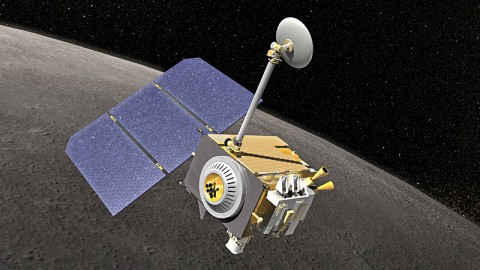 NASA's Lunar Reconnaissance Orbiter has been studying the moon since June 2009. (Credit: NASA)