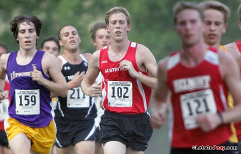 Austin Peay Men's Cross Country. (Courtesy: Keith Dorris/Dorris Photography)