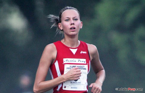 Austin Peay Women's Cross Country. (Courtesy: Keith Dorris/Dorris Photography)