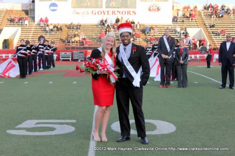 Molly Silkowski was Crowned Homecoming Queen and Ryan Givens was Crowned Homecoming King.
