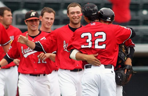 Austin Peay's baseball team will play a schedule studded with teams that qualified for the 2012 NCAA Baseball Championship. (Courtesy: Austin Peay Sports Information)