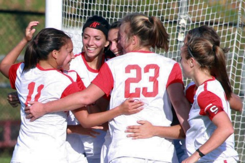 Austin Peay Women's Soccer. (Courtesy: Brittney Sparn/APSU Sports Information)