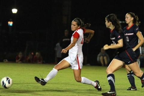 Austin Peay Women's Soccer.(Courtesy: Brittney Sparn/APSU Sports Information)