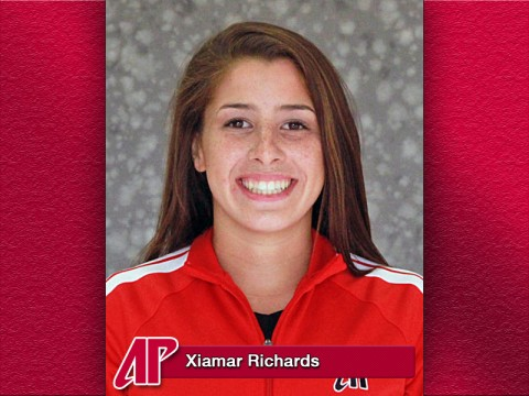 Austin Peay Athlete of the Week Xiamar Richards