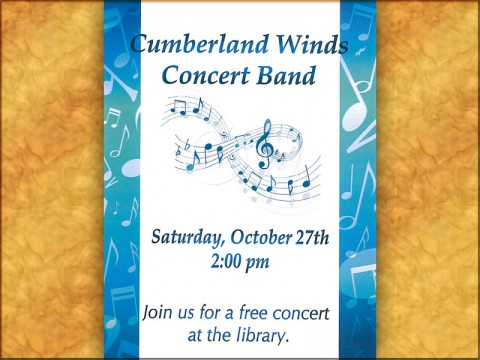 Cumberland Winds Concert Band at Clarksville-Montgomery County Public Library