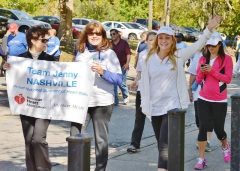 Nashville Heart Walk