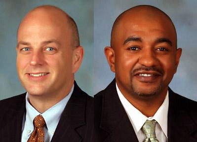 (L to R) Dan Billingsley and Derrick Quarles