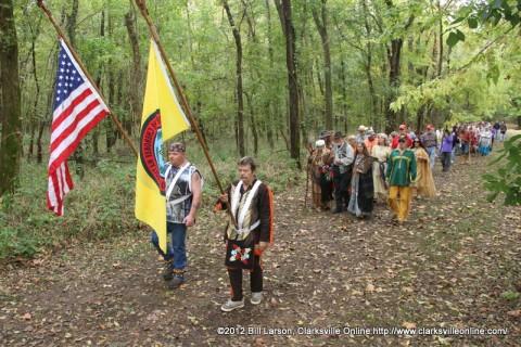 The 4th Annual Trail of Tears Memorial Walk
