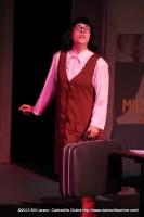 Jill Twiss, as office spy Roz Keith