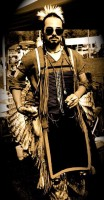 The NCC Powwow's Head Man for 2012 is Jesse Cross
