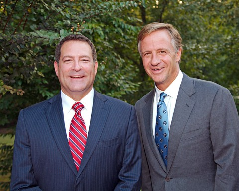 Mark Green and Tennessee Governor Bill Haslam