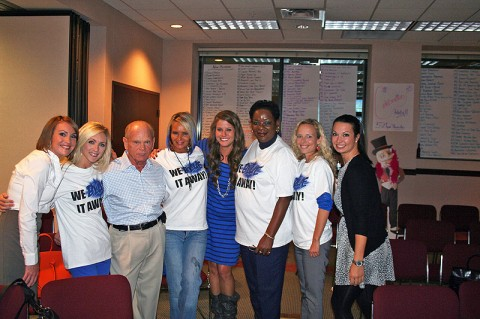 Over 200 Business Leaders Volunteer for Clarksville Chamber Membership Event.