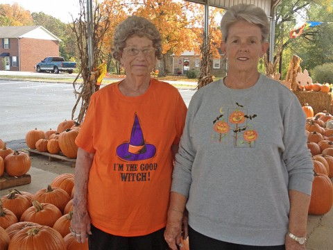Pumpkin Patch  tradition continues at St. Bethlehem United Methodist Church