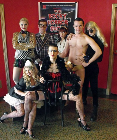 """The Rocky Horror Show"" at the Roxy Regional Theatre October 19th through November 10th."