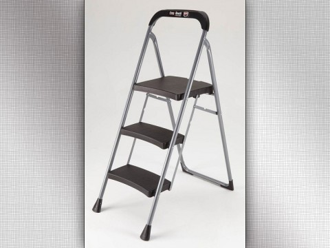 3-Step Pro Series step stool, model number HB3-PRO, recalled due to fall hazzard.
