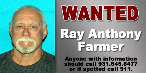Wanted - Ray Anthony Farmer
