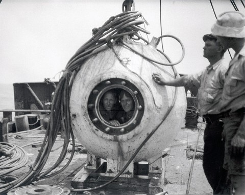 Bathysphere Adventure at the Customs House Museum