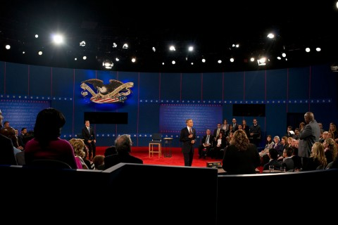 The second presidential debate—October 16th  (Scout Tufankjian/Obama for America)