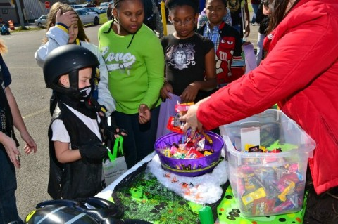 Operation Defiance Trunk-or-Treat. (Photo by CPD-Sgt Terry Minton)