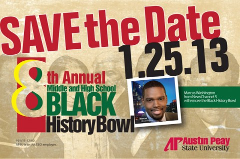 APSU hosting 8th annual Black History Bowl on January 25th