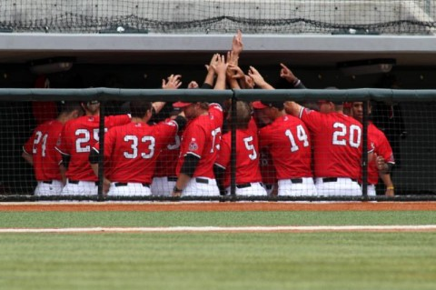 APSU Baseball's Red-White World Series.