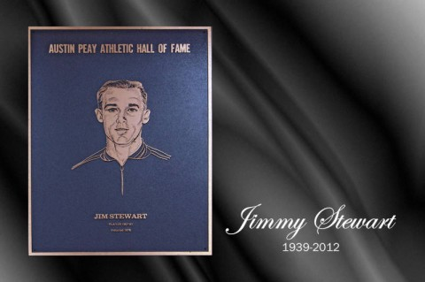 Austin Peay Hall of Famer Jimmy Stewart. (Courtesy: Austin Peay Sports Information)