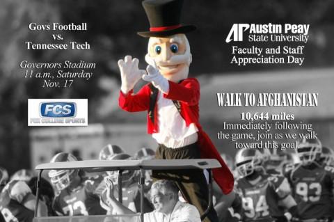 APSU Football. (Courtesy: Austin Peay Sports Information)