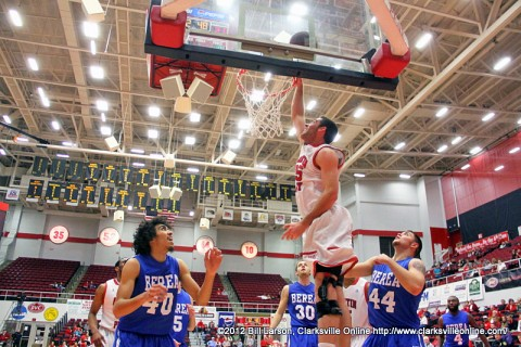 APSU Senior Anthony Campbell scored 20 points and reached 1,000 point mark Wednesday night against Berea College.