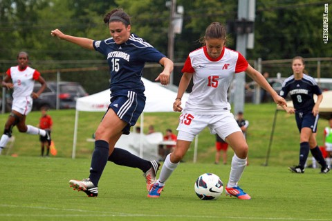 Austin Peay Lady Govs Soccer's Tatiana Ariza. (Courtesy: Brittney Sparn/APSU Sports Information)