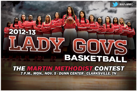 Austin Peay Women's Basketball. (Courtesy: Austin Peay Sports Information)