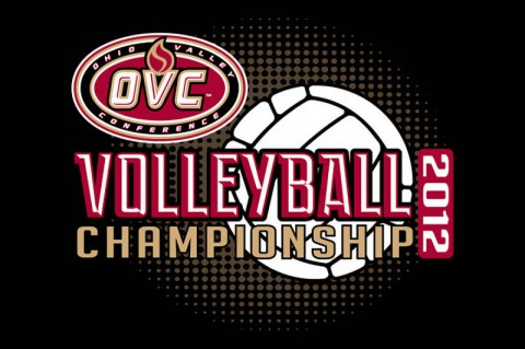 APSU Lady Govs Volleyball plays Tennessee State in OVC Volleyball Championship opener. (Courtesy: Austin Peay Sports Information)