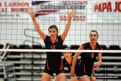 Austin Peay Women's Volleyball takes on Tennessee State Thursday in the Ohio Valley Conference Vollyball Championship.