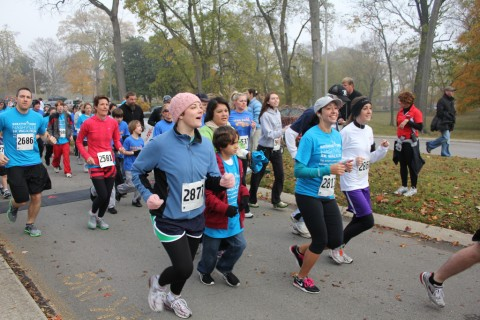 The Breath Deep Nashville 5k Run in 2010