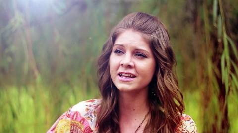"""Lydia Walker in """"Butterfly"""" Video"""