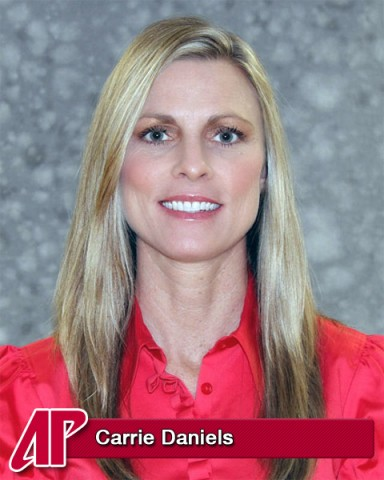 APSU Women's Basketball Head Coach Carrie Daniels