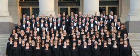 A photo of the Nashville Symphony Chorus taken by Harry Butler