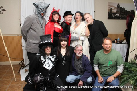 Some of the great costumes at the 2012 Wags to Witches Fur Ball Bash