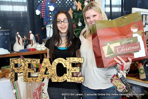 Shoppers at the 2012 Handcrafted Holidays