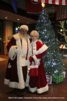 Santa and Mrs. Claus will be visiting with the children each weekend at Christmas on the Cumberland