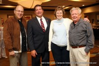 Dr. Mark Green with supporters Joan and Ernie Dewald (left) and  Mac Eddington (right)