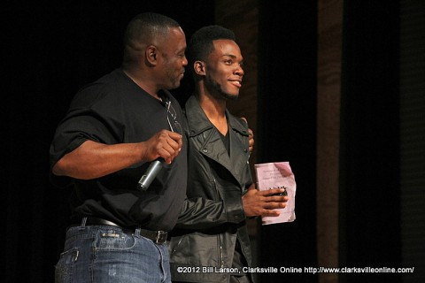 Alphonse Prather and D. J. Pryor at the 2012 Stompfest