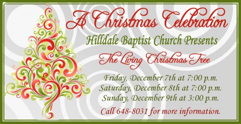 The Living Christmas Tree – A Christmas Celebration