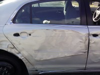 Chevrolet Malibu involved in accident Thursday morning.