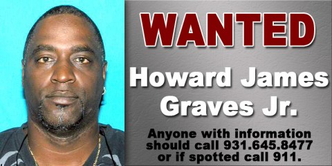 Wanted - Howard James Graves Jr