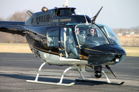 Tennessee Highway Patrol Aviation Unit. (Photo by CPD-Jim Knoll)