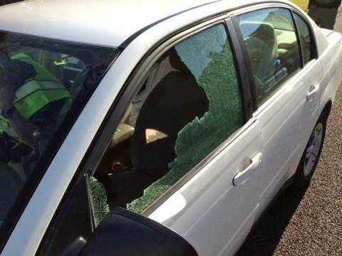Photo of Broken Window on Chevy