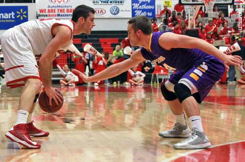 APSU Men's Basketball. (Courtesy: Brittney Sparn/APSU Sports Information)