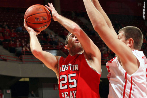 APSU Men's Basketball Senior Anthony Campbell had 24 points Thursday night. (Courtesy: Austin Peay Sports Information)