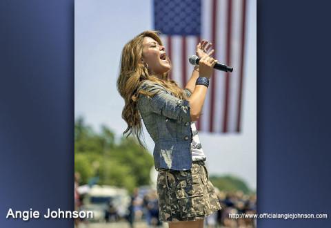Sony Nashville recording artist Angie Johnson