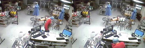 Clarksville Police need Help Identifying Burglary Suspect in these photos.